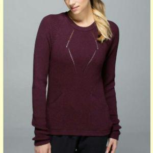 Lululemon The Sweater The Better in Beaurdeaux